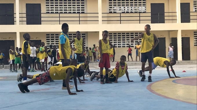 Featured Partner: Sprint to Cite Soleil Youth Basketball Program